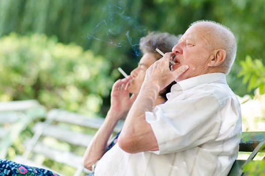 Ways for Helping an Elderly Loved One Give Up Smoking in Barrie, ON